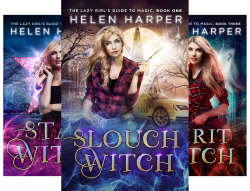 Slouch Witch series by Helen Harper.