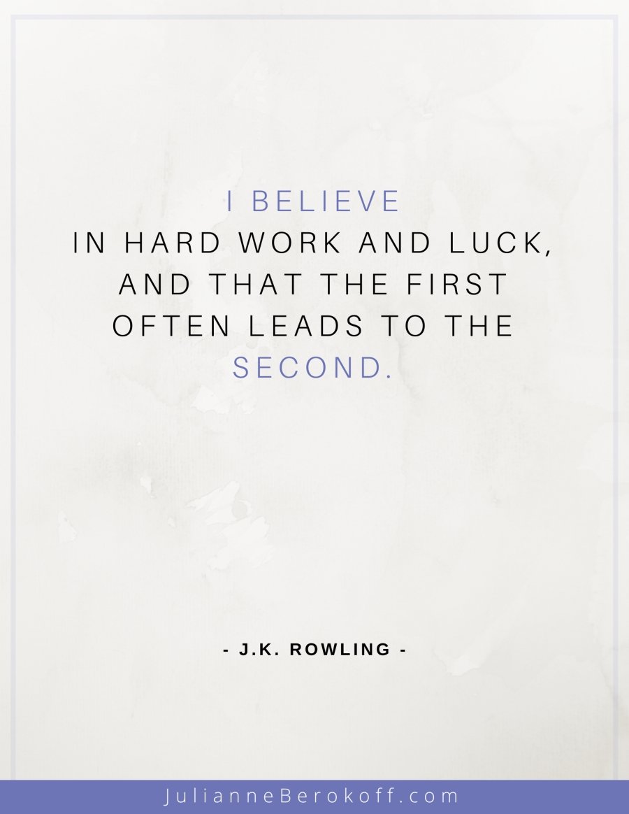 J. K. Rowling inspirational author quote
