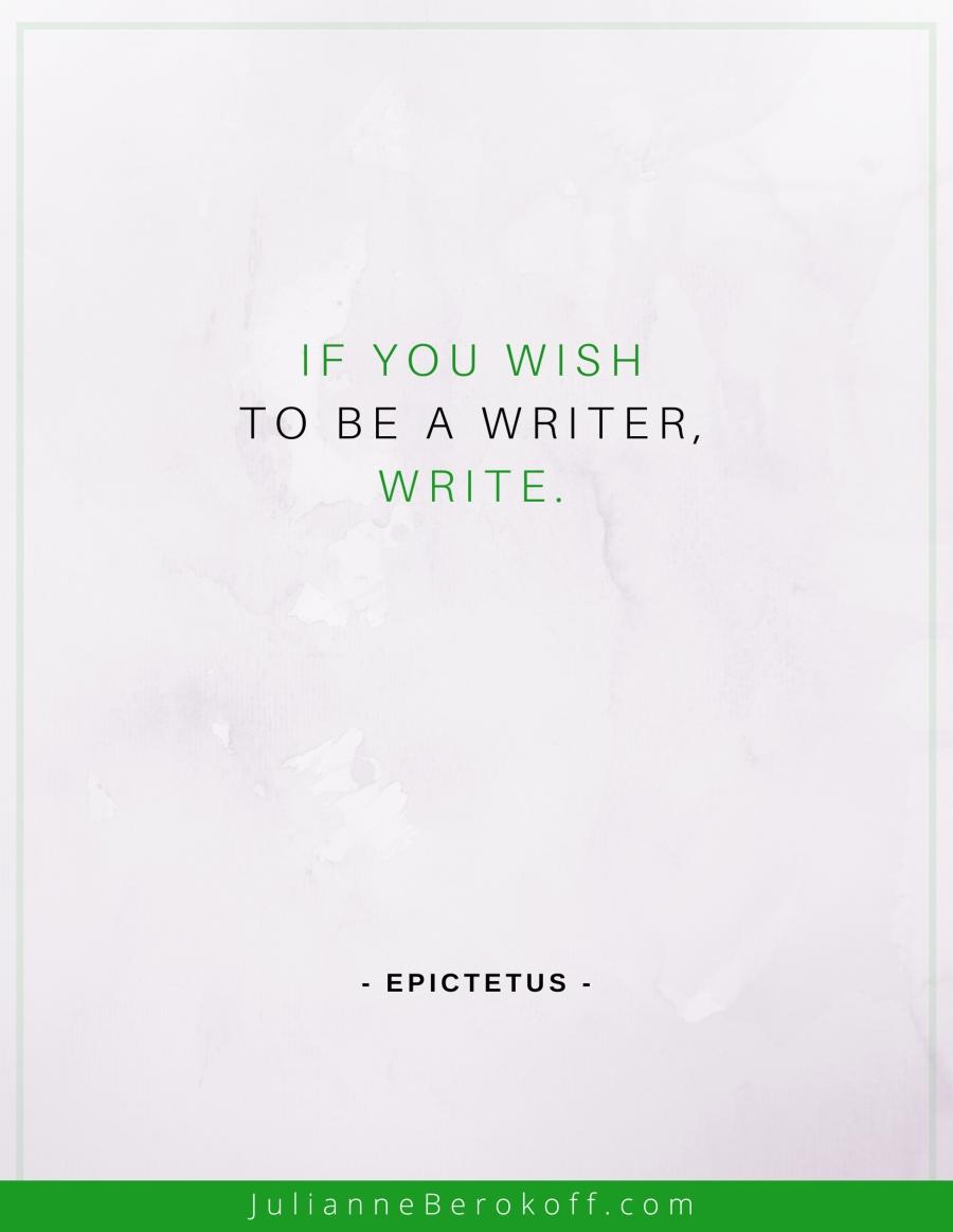 Epictetus inspirational author quote