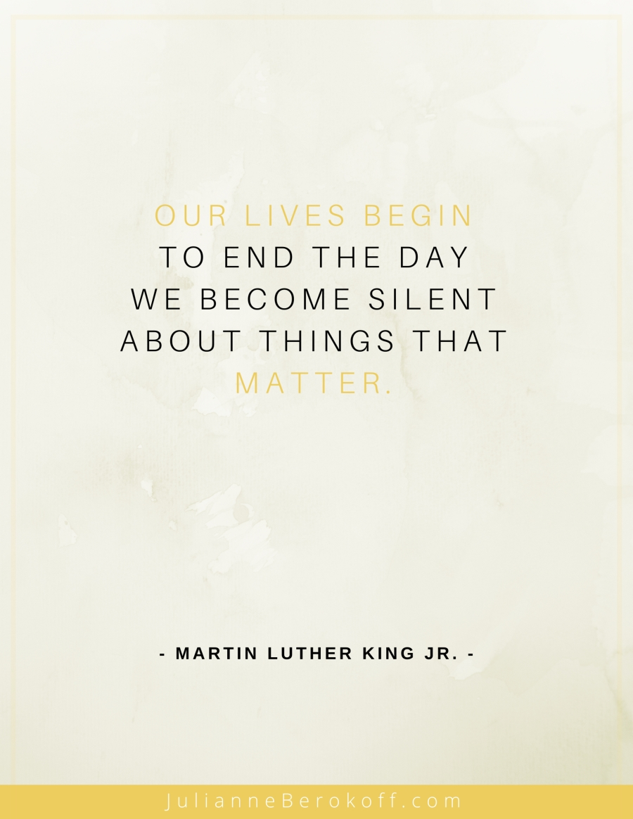 Martin Luther King Jr. inspirational author quote