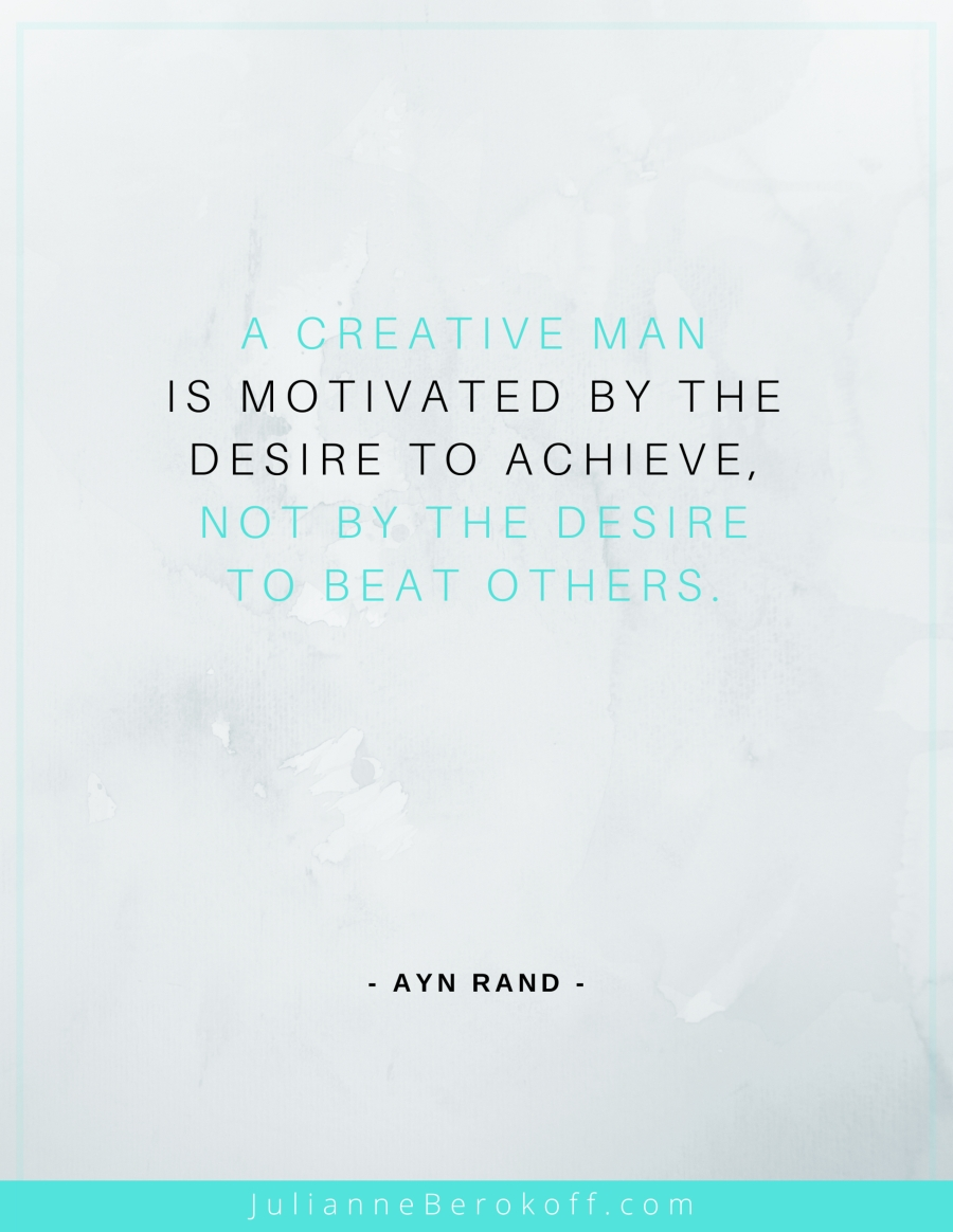 ayn rand inspirational author quote