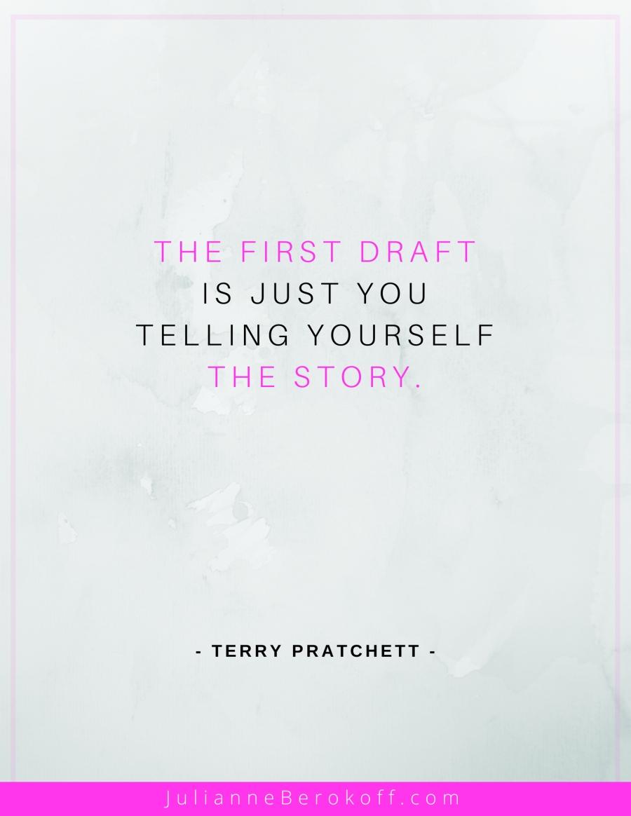 Terry Pratchett inspirational author quote