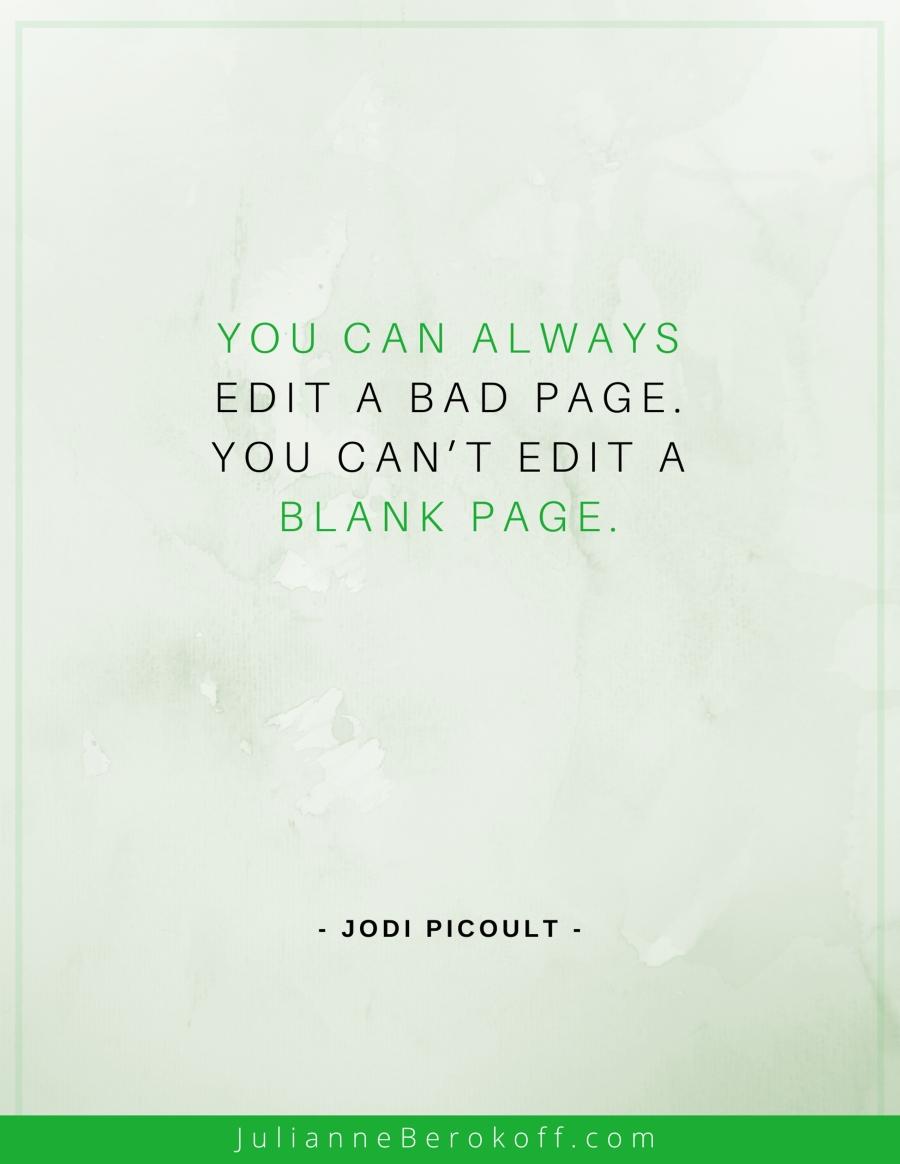 Jodi Picoult inspirational author quote