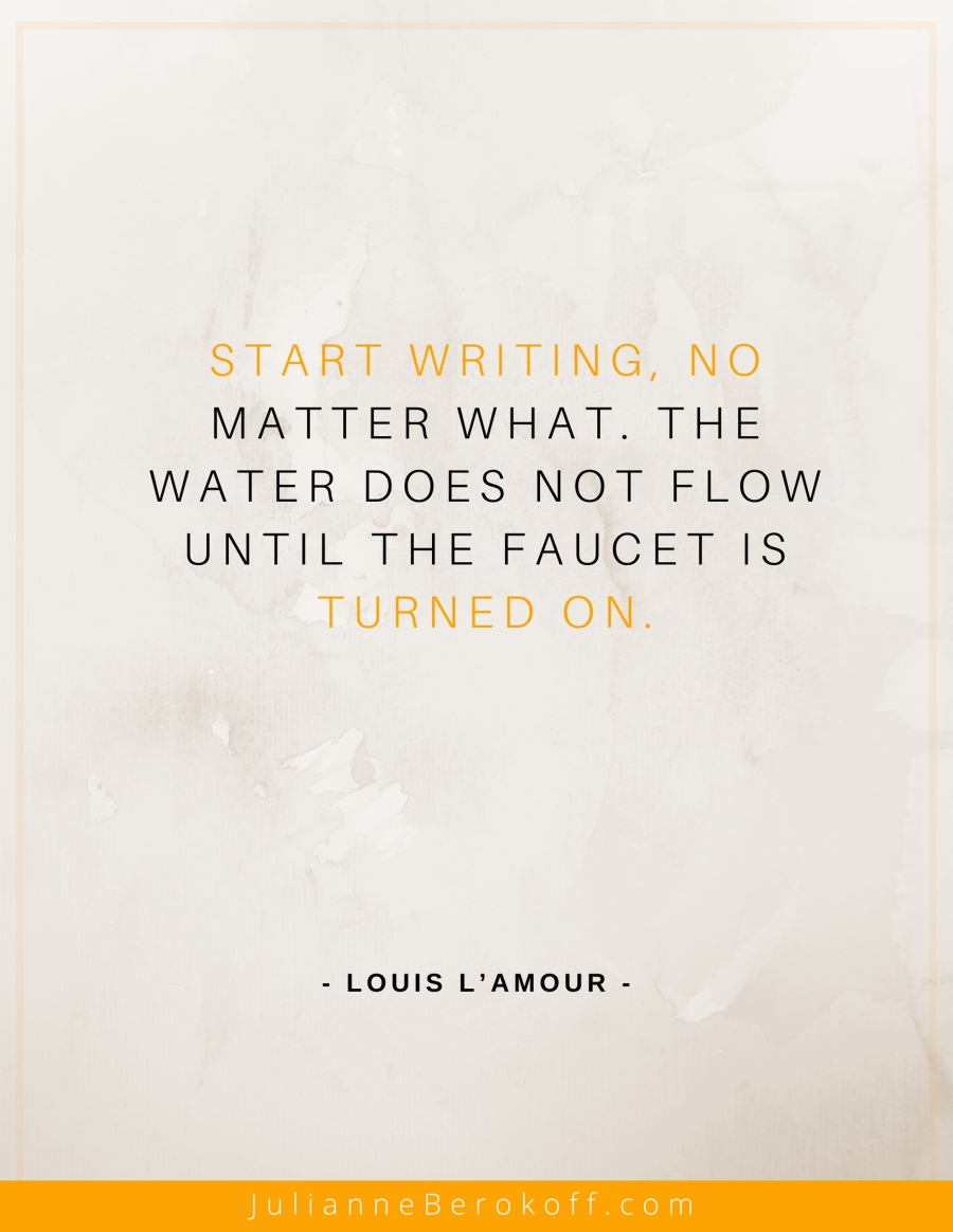 Louis L'Amour inspirational author quote