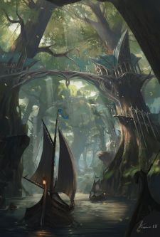 Epic Fantasy Art for Your Descriptive Writing Inspiration, by Julianne Berokoff11