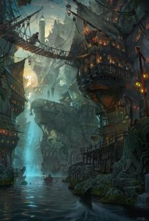 Epic Fantasy Art for Your Descriptive Writing Inspiration, by Julianne Berokoff38