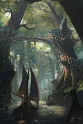 Epic Fantasy Art for Your Descriptive Writing Inspiration, by Julianne Berokoff47