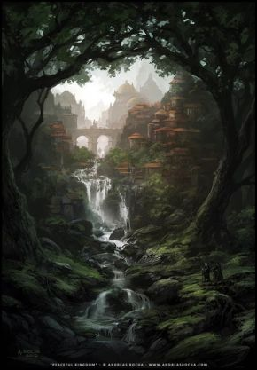 Epic Fantasy Art for Your Descriptive Writing Inspiration, by Julianne Berokoff48