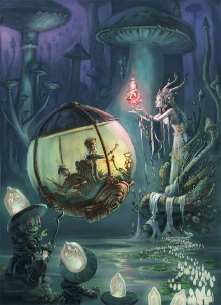 Epic Fantasy Art for Your Descriptive Writing Inspiration, by Julianne Berokoff54