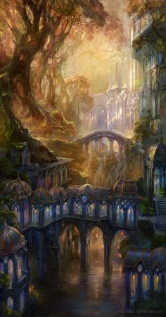 Epic Fantasy Art for Your Descriptive Writing Inspiration, by Julianne Berokoff58