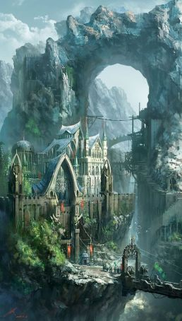 Epic Fantasy Art for Your Descriptive Writing Inspiration, by Julianne Berokoff6